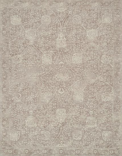"""Transitional 2'-3""""x4'-0"""" Rug in Taupe/Taupe"""