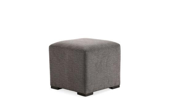 "Casual 18"" Cube Ottoman in Gray"