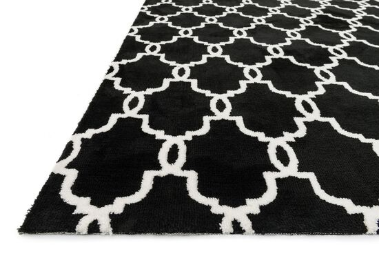 Transitional Rug in Onyx