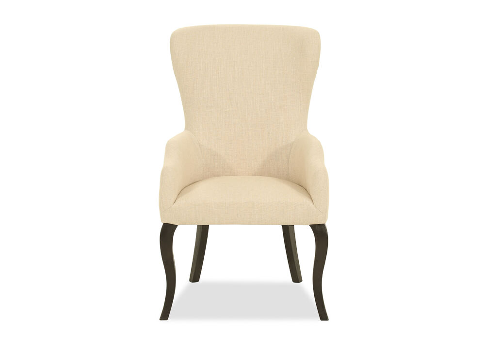 Casual Dining Chair In Cream Mathis Brothers Furniture