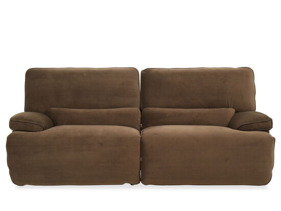 Casual Power Reclining Sofa in Coffee