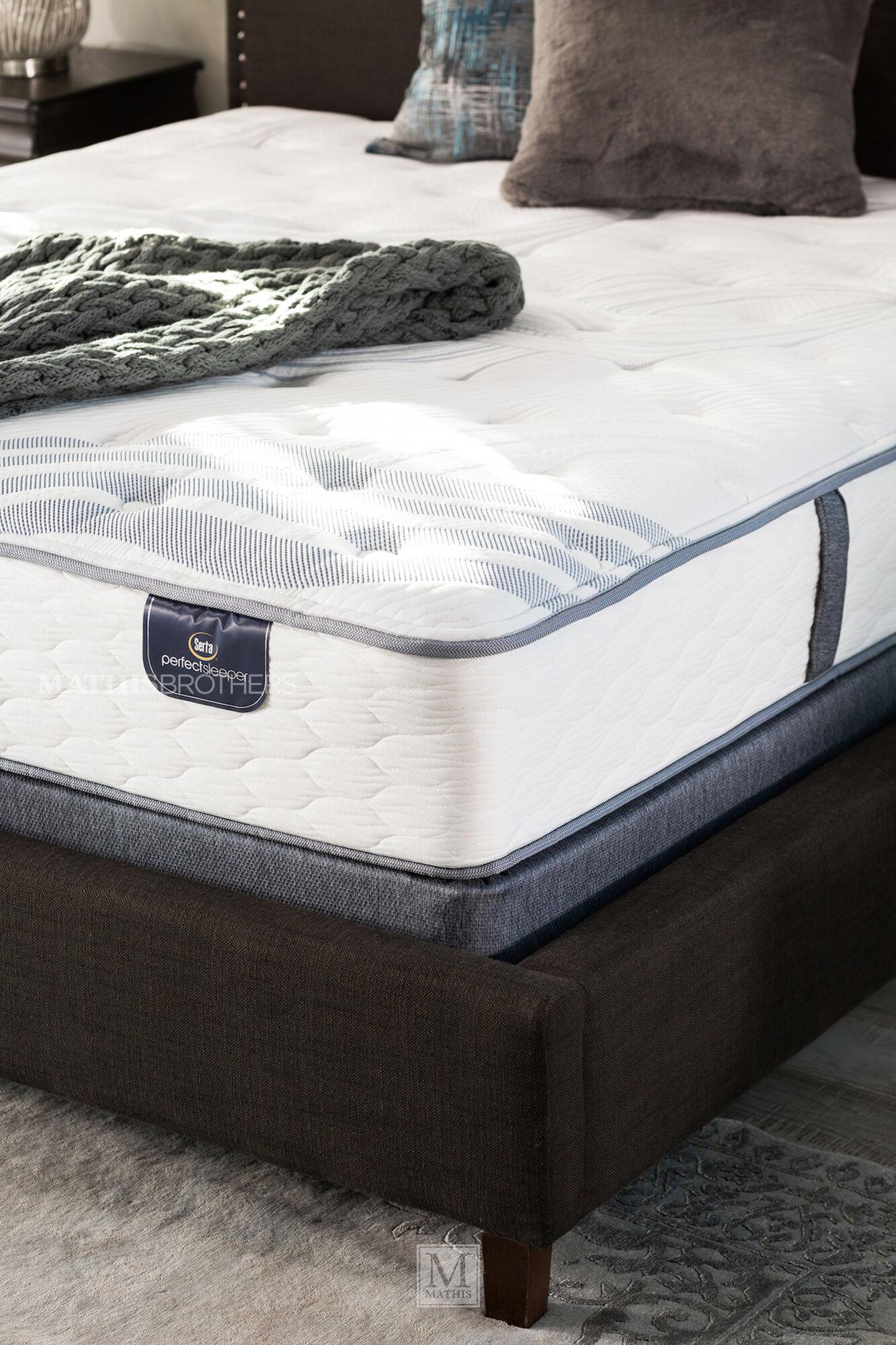 Serta Perfect Sleeper Dulan Plush Mattress Mathis Sleep Center