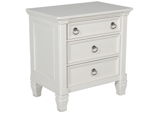 29 5 Quot Contemporary Nightstand In White Mathis Brothers