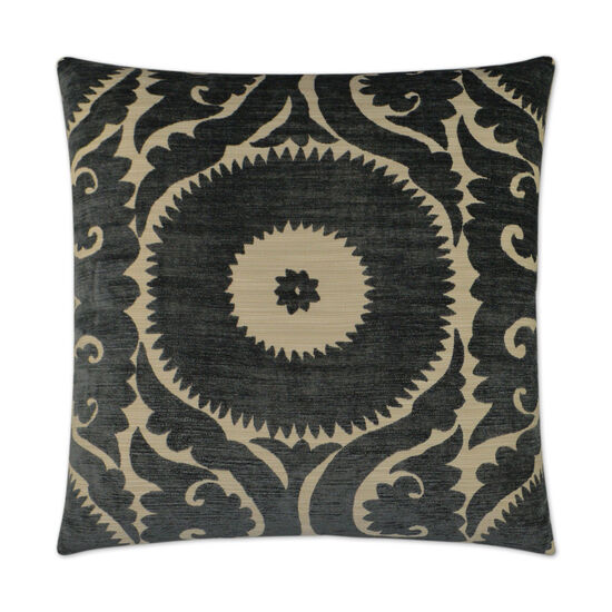 Nebo Pillow in Charcoal Gray