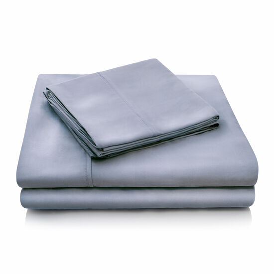 Malouf Tencel Queen Sheet Set in Dusk