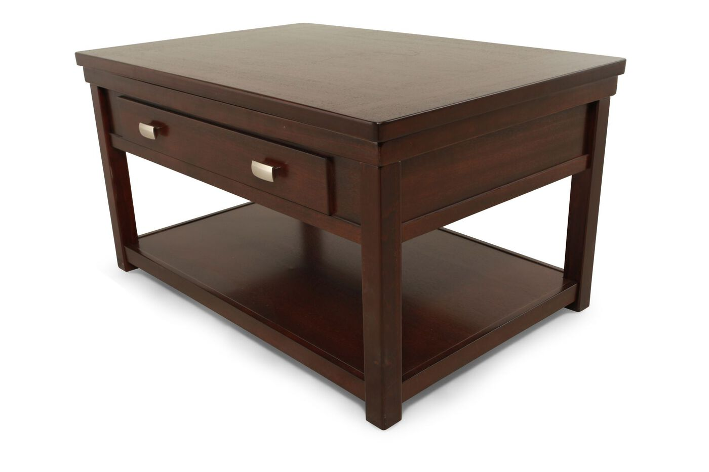 Lift top cocktail table ashley furniture -  Ashley Hatsuko Lift Top Cocktail Table
