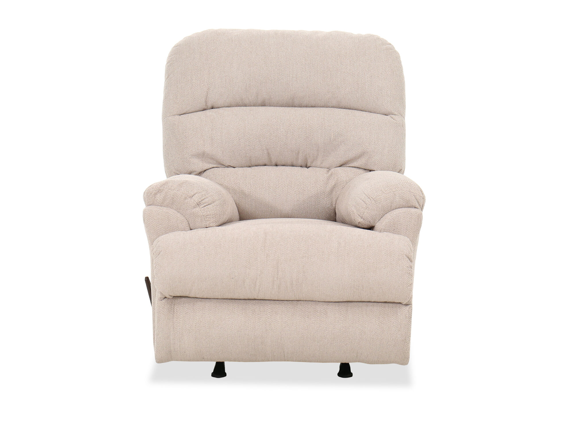 Casual 36 Quot Rocker Recliner In Beige Mathis Brothers