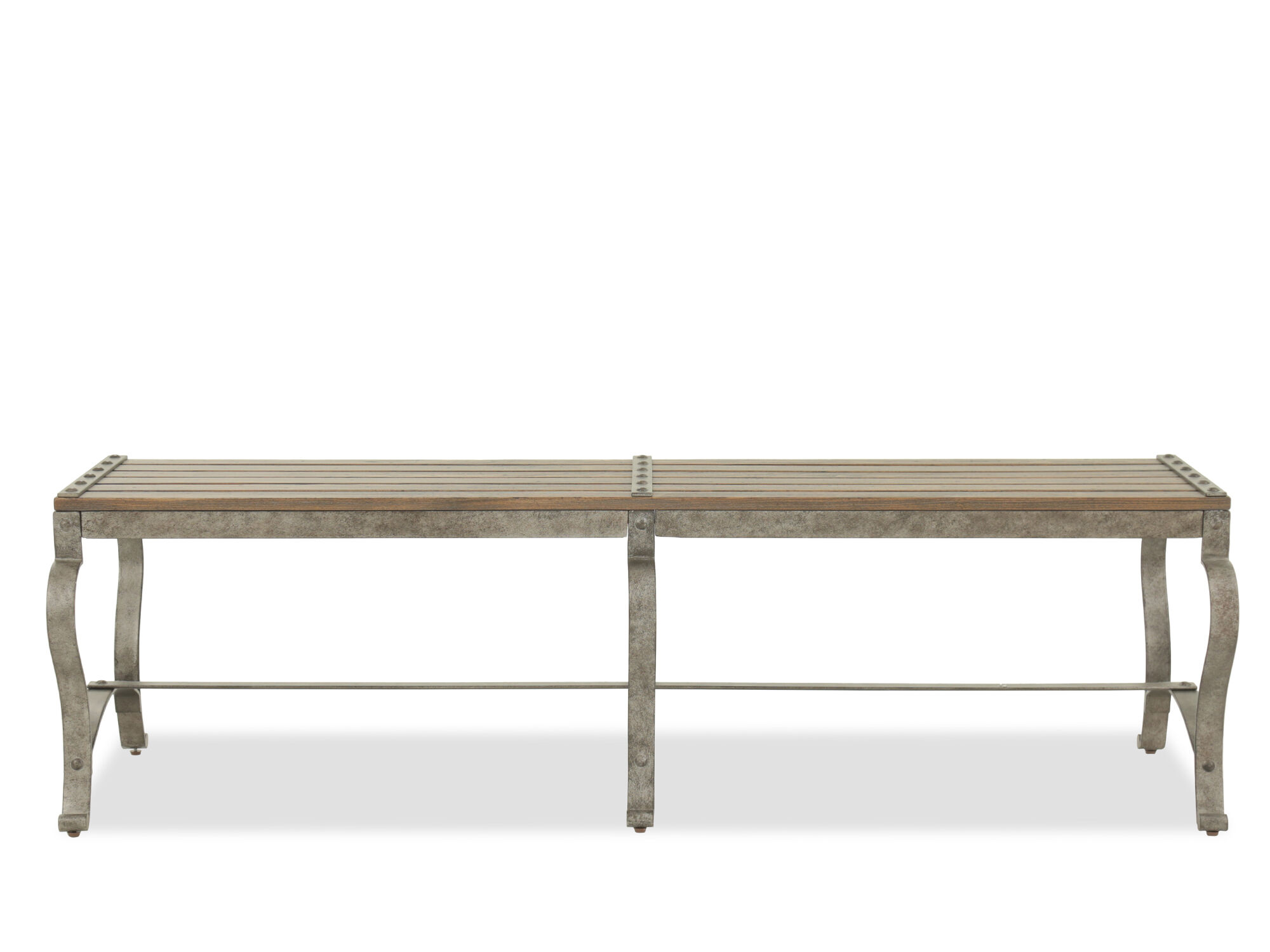 Refined Romantic Luxury 66 Quot Bed Bench In Brown Mathis