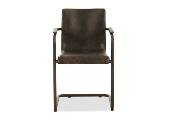 Dining Arm Chair in Brown
