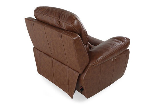 """Contemporary 48"""" Power Recliner in Tumbleweed"""