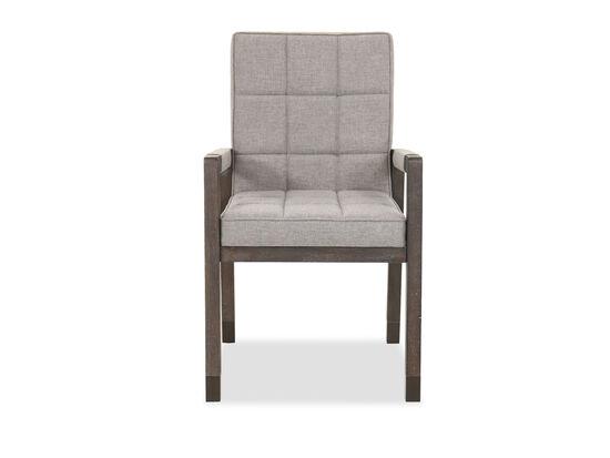 36'' Oak Solids Arm Chair in Smoky Arabica