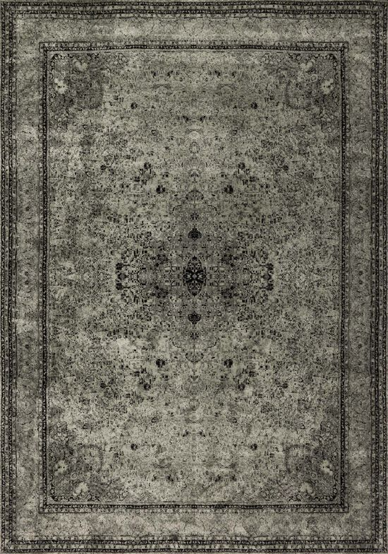 """Transitional 5'-0""""x7'-6"""" Rug in Silver"""