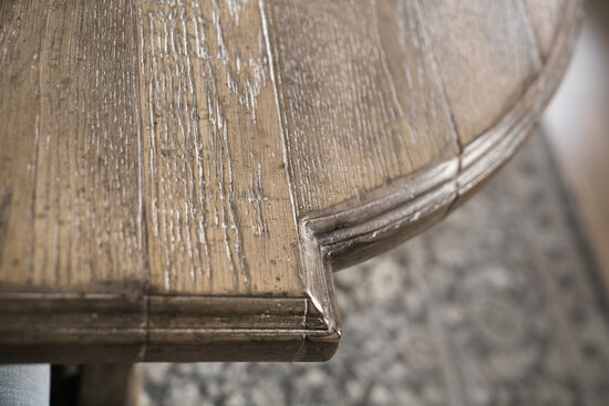"Boheme Colibri 88"" Trestle Dining Table W/1-20"" Leaf in Light Wood"