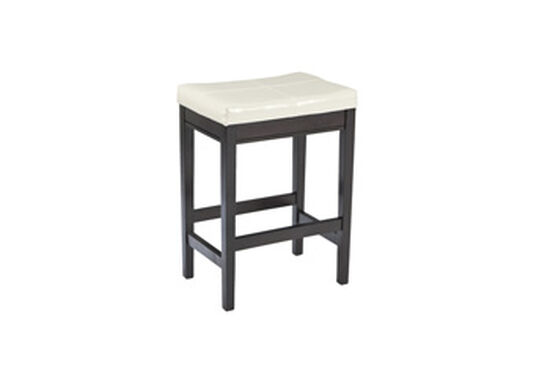 "Contemporary 24"" Bar Stool in Dark Brown"