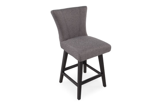 Contemporary 40 Quot Armless Bar Stool In Dark Stone Mathis