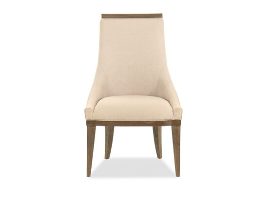 Contemporary 32'' Sling Chair in Beige