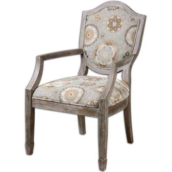 """Solid Birch Weathered 23"""" Accent Chair"""