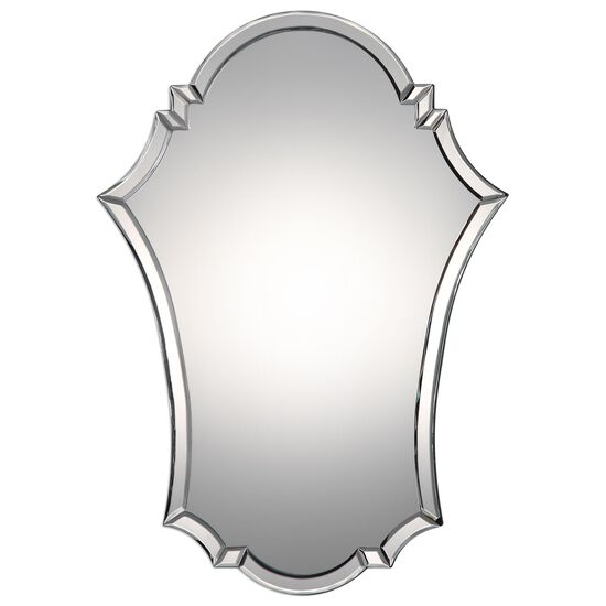 29'' Arched Accent Mirror in Silver