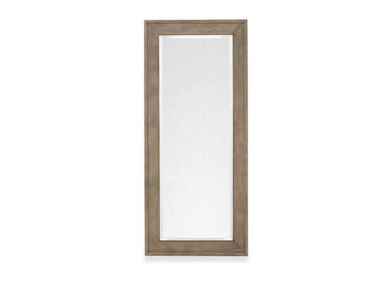 82'' Transitional Mirror in Brown