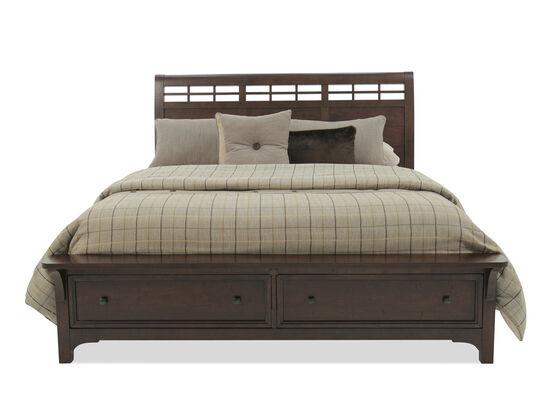 Winners Only Retreat Mango Queen Brown Storage Bed