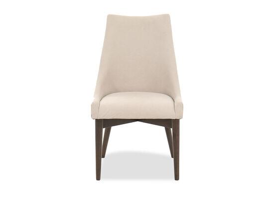 """Modern 38"""" Sling Back Side Chair in Beige"""