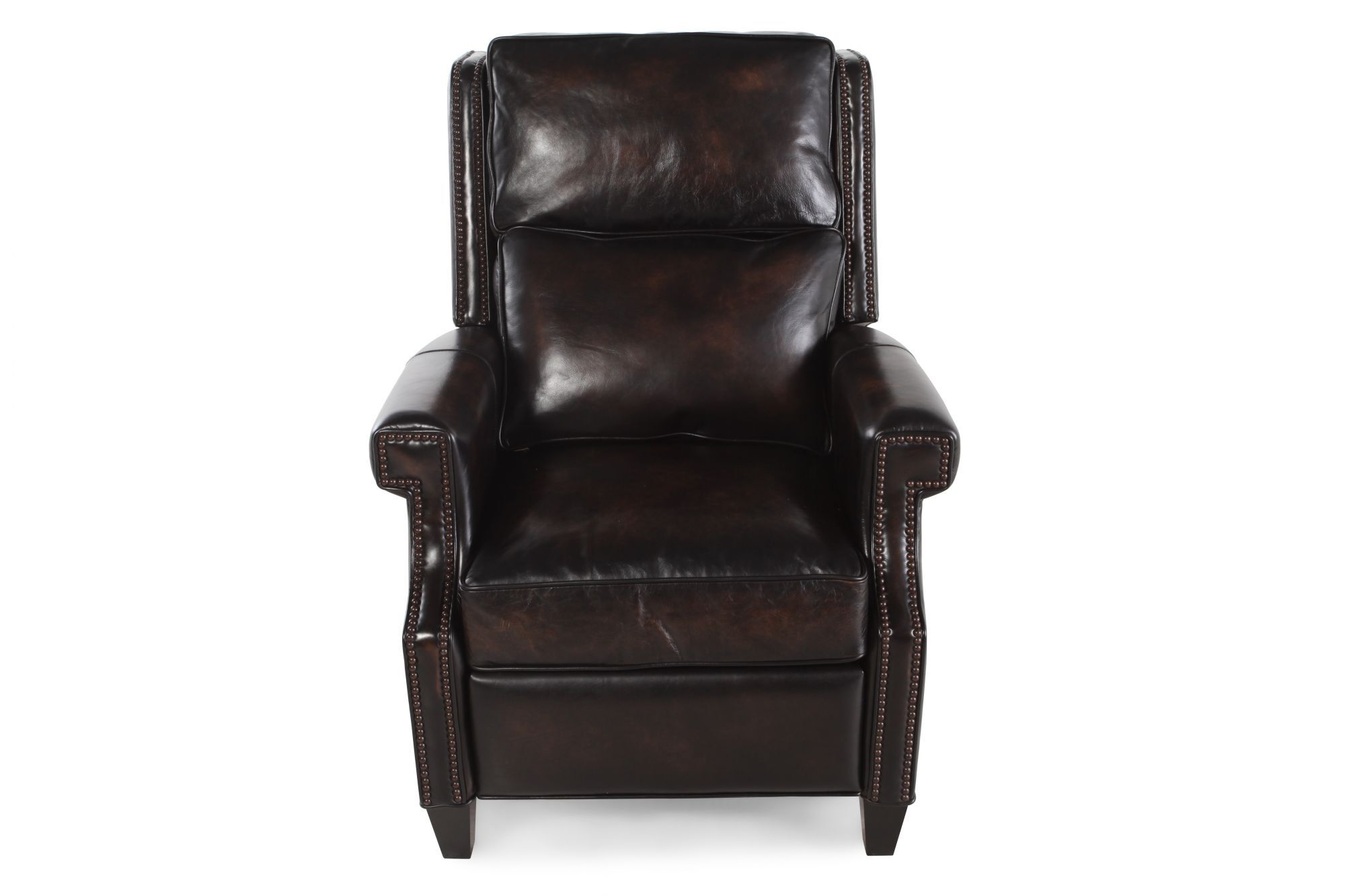 Bernhardt Barrett Brown Leather Recliner  sc 1 st  Mathis Brothers & Bernhardt Barrett Brown Leather Recliner | Mathis Brothers Furniture islam-shia.org