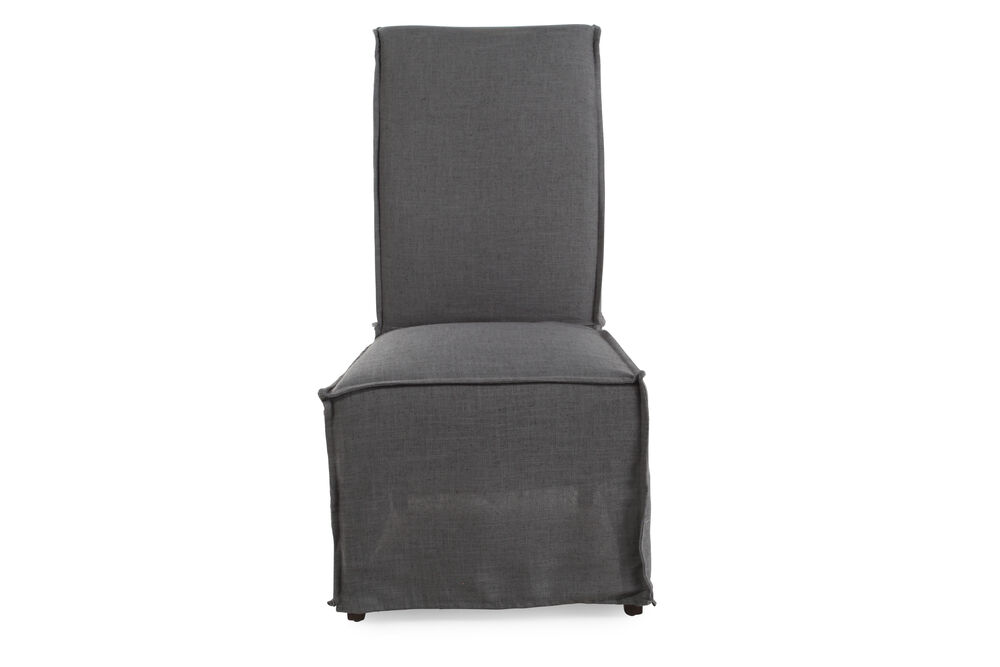 Chair In Dark Gray Images Casual 43 39 Armless Dining Nbsp
