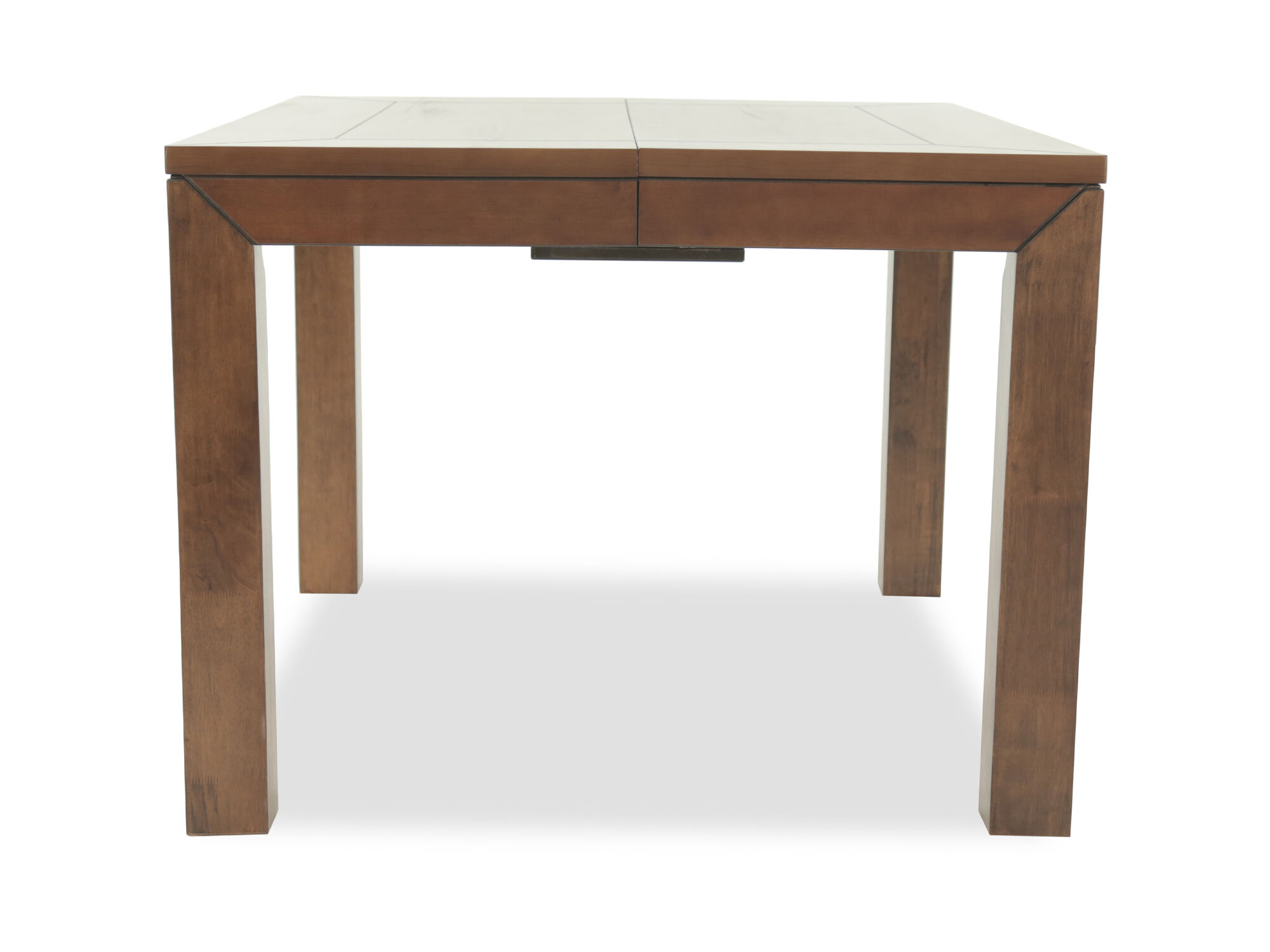 Charming 36u0026quot; Plank Top Pub Table In ... Part 30