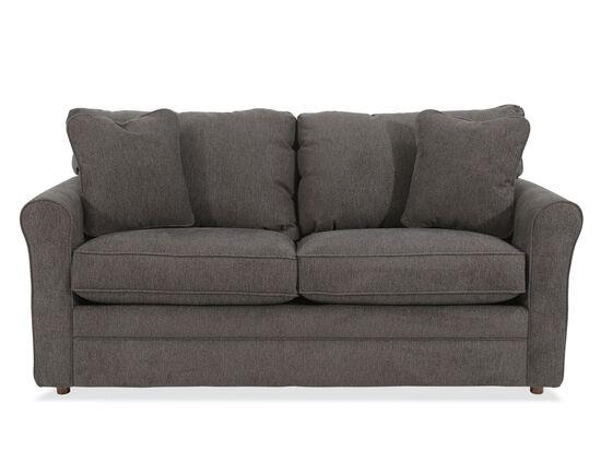 "Casual 73.5"" Full Sleeper Sofa in Gray"