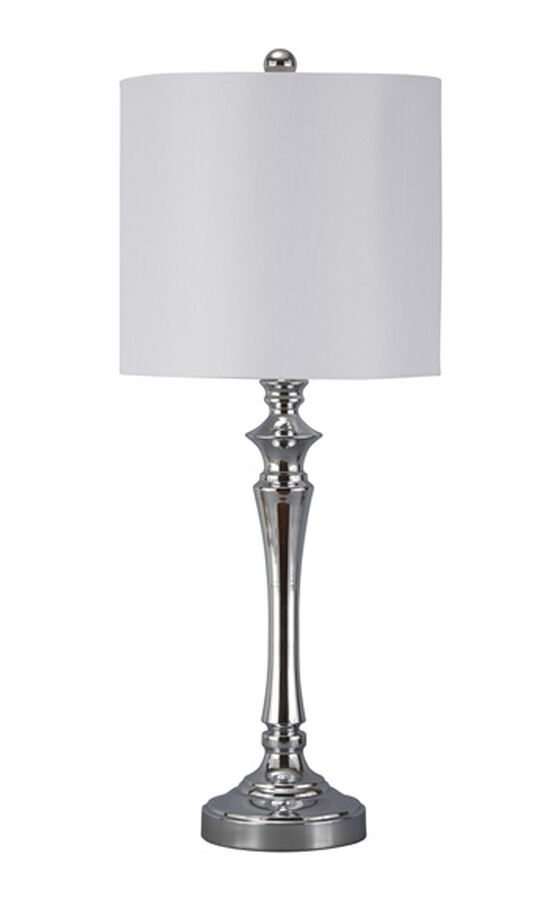 Contemporary Table Lamp in Chrome