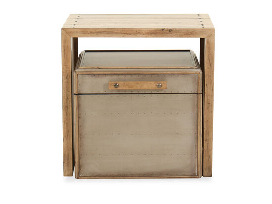Casual Nesting Tables in Light Maple