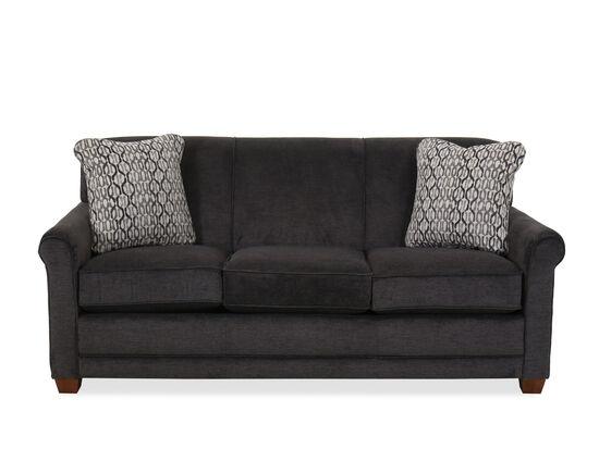 "Casual 79"" Queen Air Sleeper Sofa in Gray"