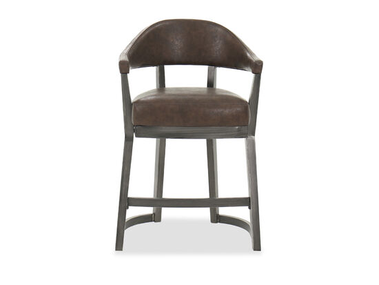"""Casual 31"""" Counter Stool in Brown"""