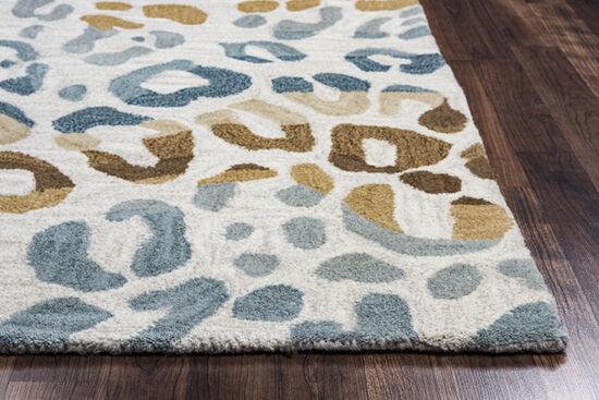 Transitional Hand-Tufted 9'  x  12' Rectangle Rug in Multi