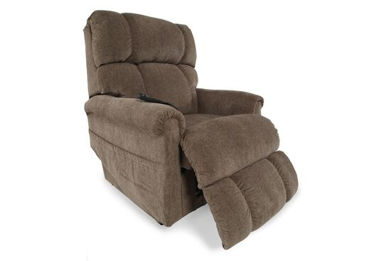 """Casual 33"""" Lift Recliner in Tobacco"""