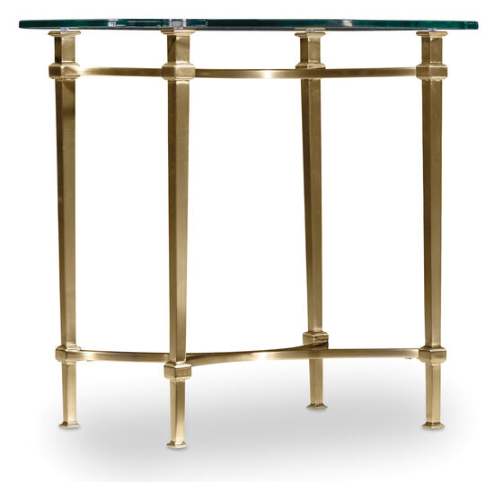 Highland Park End Table in Gold