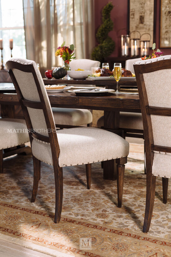 """Casual 44"""" Host Chair in Beige"""