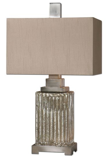 Home lighting mathis brothers aluminum accented ribbed mercury glass table lamp keyboard keysfo Choice Image