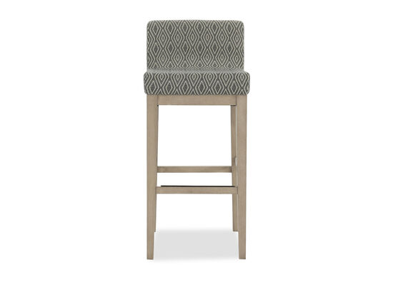 "Diamond Patterned 37"" Bar Stool"