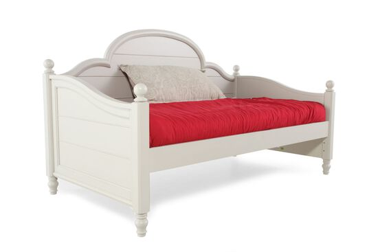 Country Panel Youth Daybed in White