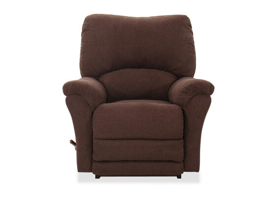 "40"" Casual Rocker Recliner in Mahogany"