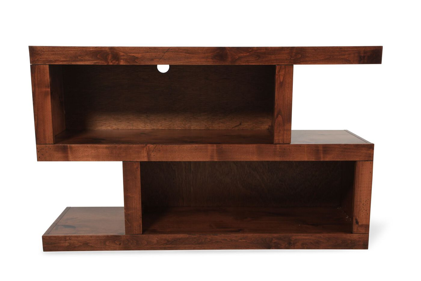 Aspen contemporary console table mathis brothers furniture aspen contemporary console table geotapseo Image collections