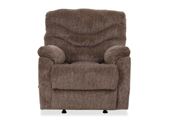 """Casual 37"""" Rocker Recliner in Taupe"""