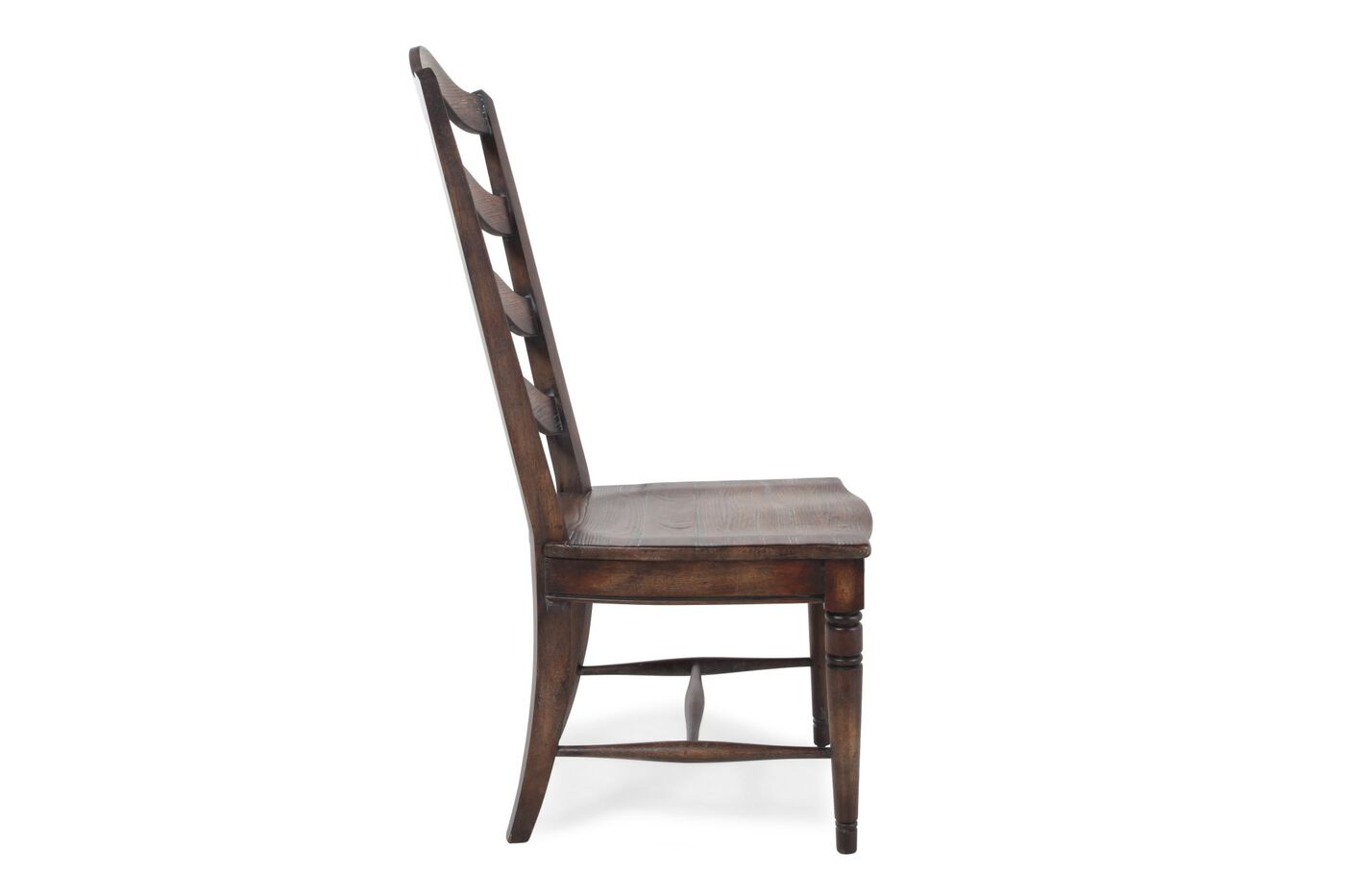 Hooker Willow Bend Pair Of Ladderback Side Chairs Mathis - Bend furniture