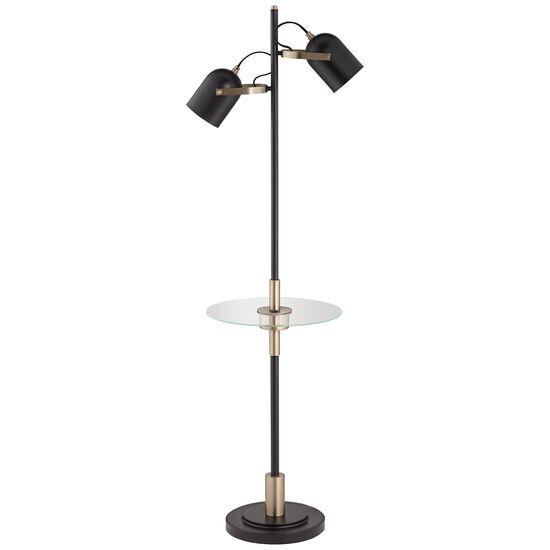 Biron Two-Light Floor Lamp