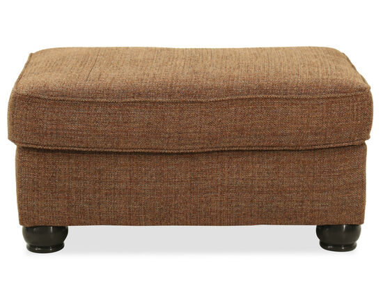 "Transitional 36"" Ottoman in Caramel"