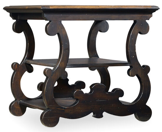 Treviso End Table in Black