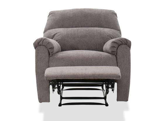 """Casual 35"""" Recliner in Gray"""