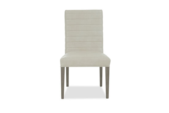 "Solid Wood 21.5"" Side Dining Chair in Beige"