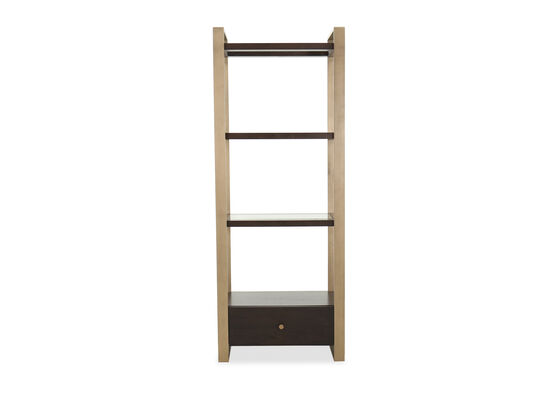 Modern Vertical Etagere in Barton